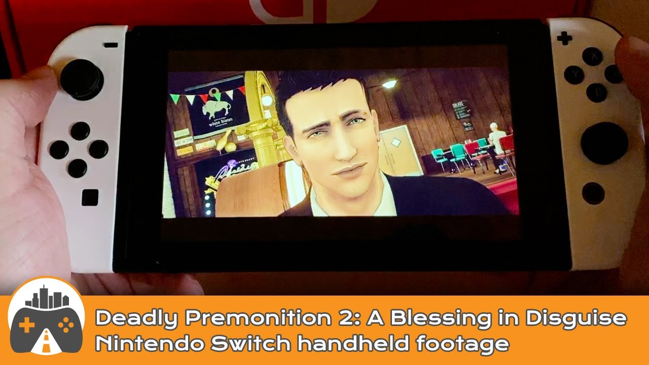 [Deadly Premonition 2: A Blessing in Disguise] Switch handheld footage