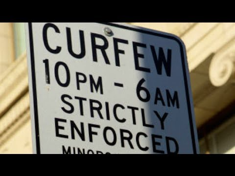 Do curfews keep teenagers out of trouble essay