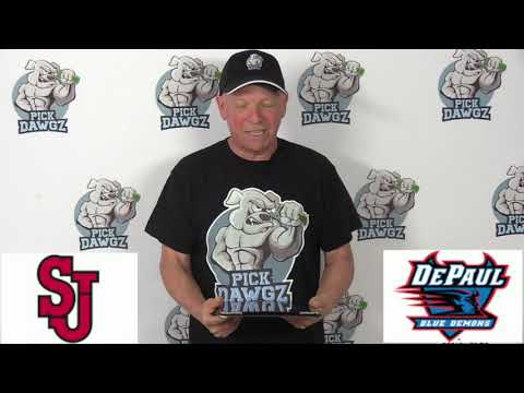 DePaul vs St. Johns 1/25/20 Free College Basketball Pick and Prediction CBB Betting Tips