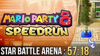 Mario Party 8 Star Battle Arena Speedrun in 57:18