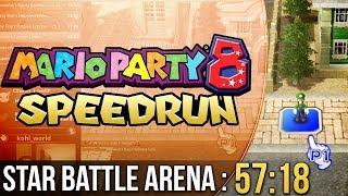 Mario Party 8 Star Battle Arena Speedrun in 57:18