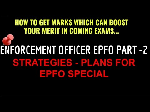 Enforcement Officer - EPFO Part 2