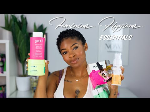 Feminine Hygiene Q+A  Odor Tips Waxing Ingrown Hairs + Hyperpigmentation & Favorite Products