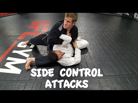 Side Control Submissions | Paper Cutter and Shoulder Lock with Professor Greg Walker, Chesapeake, VA