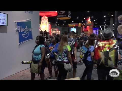 Comic Con 2017 Exhibit Hall Floor Walk
