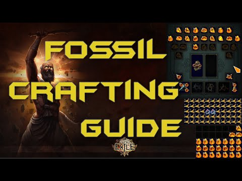 Fossil Crafting Guide for Beginners and Intermediates incl. Crafting Session - Path of Exile