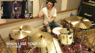 【Just The Way You Are】- Bruno Mars - drum cover HD (Kenk Star) 【叩いてみた】