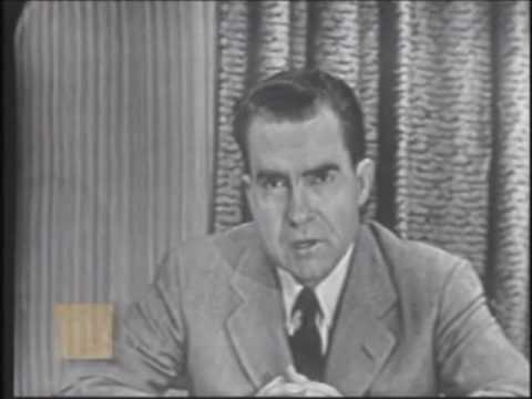 "Richard Nixon - ""Checkers"" Speech"