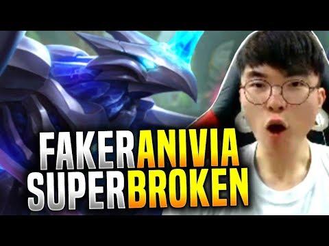 Faker Anivia it's so Broken! - SKT T1 Faker Picks Anivia Mid! | SKT T1 Replays