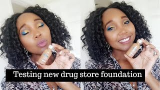 Testing new drug store foundation   eye shadow tutorial   Roxie Stars