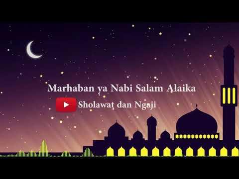 MARHABAN YA NABI SALAM ALAIKA | masbosTV - Sholawat dan Ngaji