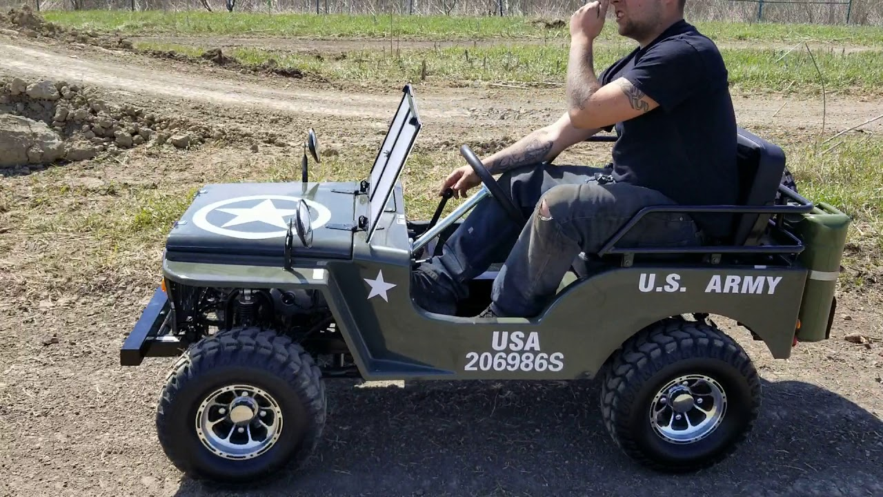 125cc Mini Jeep Golf Cart Mini Truck Lifted Elite Plus Edition For