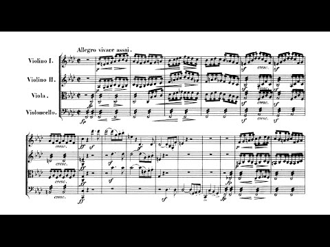 Felix Mendelssohn - String Quartet in F minor Op. 80 (GSARCI VIDEO REUPLOAD)