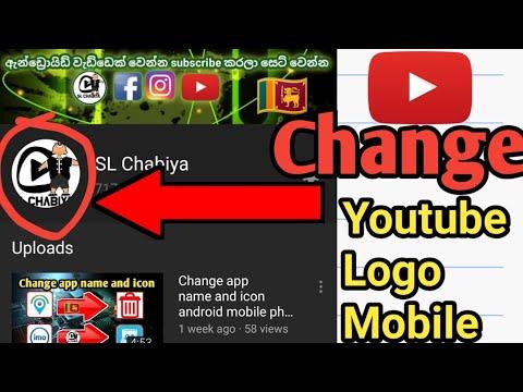 Change Youtube Logo Mobile Sinhala #slchabiya #changeyoutubelogomobile