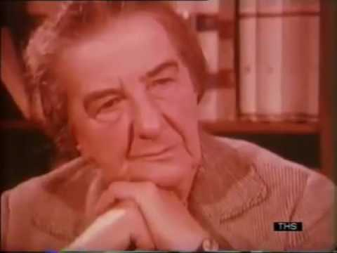Golda Meir discusses the Palestinian identity