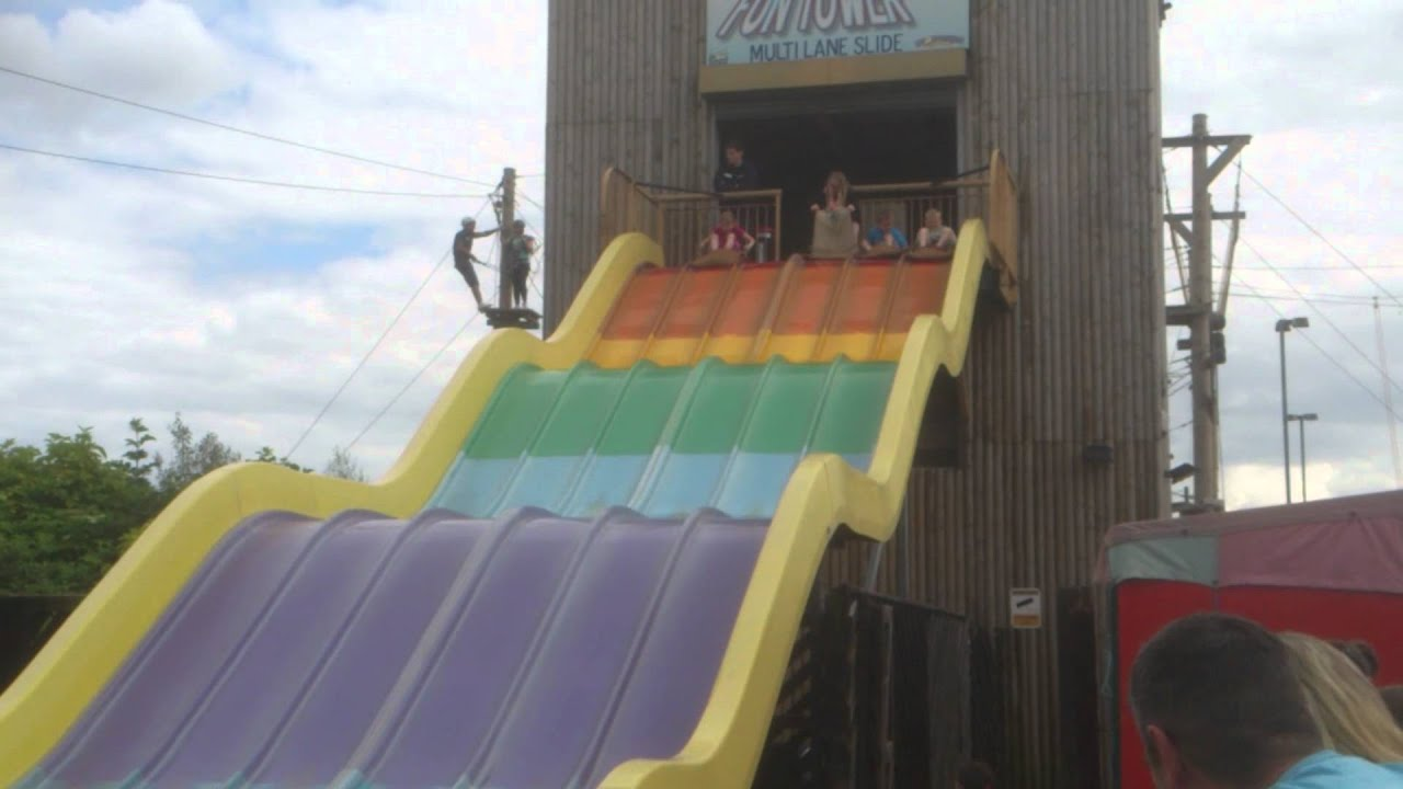 Primrose Valley Fun Slide Youtube