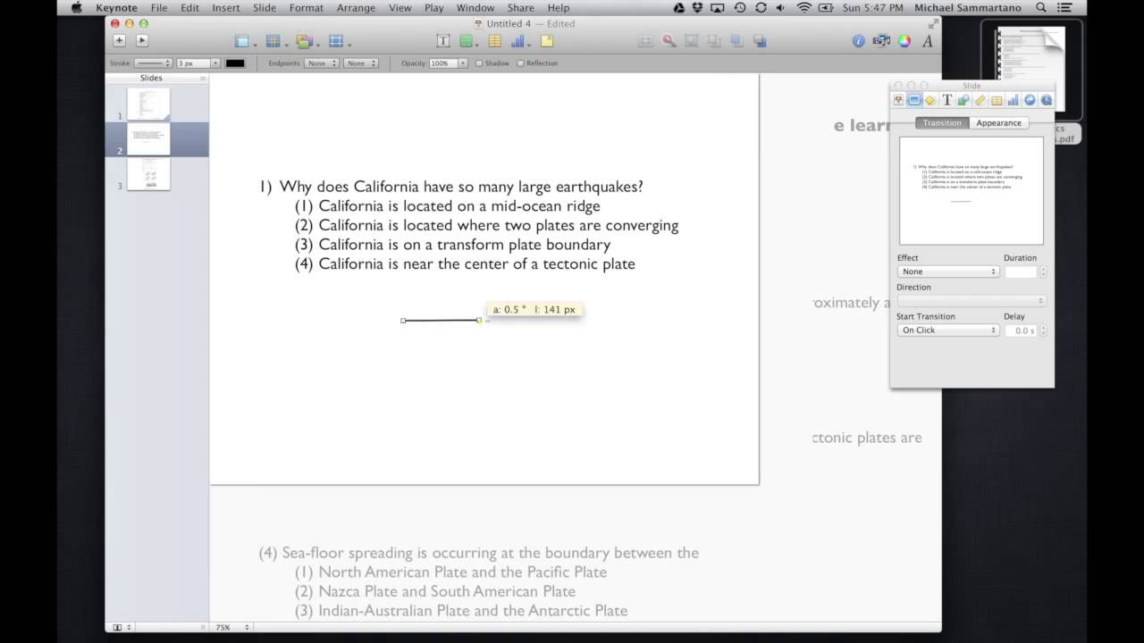 Apple iWork Keynote Tips and Tricks: Annotating and Reviewing PDF ...