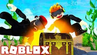 ROBLOX SCUBA DIVING CHALLANGES!!!