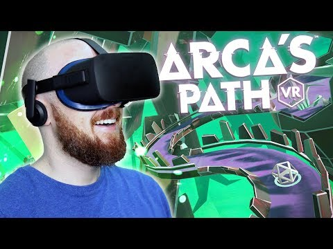 Arca's Path Review & Gameplay - Let's Roll In Virtual Reality