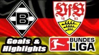 Borussia Mg vs Stuttgart - 2018-19 Bundesliga Highlights #14