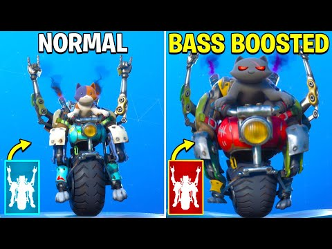 Best Fortnite Dances With Bass Boosted! [Go Cat Go, Billy Bounce]