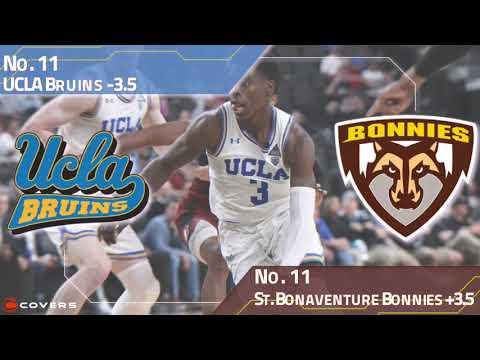 March Madness Betting Breakdown: No. 11 UCLA vs. No. 11 St. Bonaventure