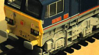 Lima Class 59 National Power Diesel Locomotive Review (59201) HD