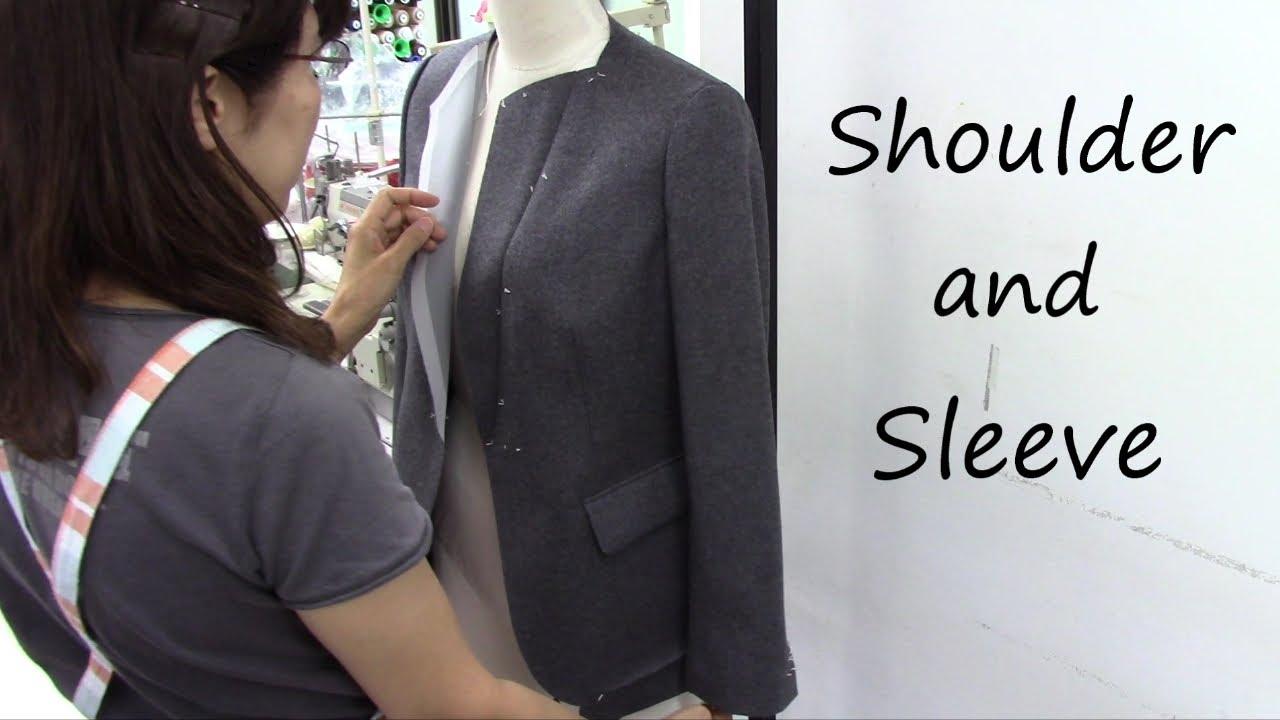 Suits without shoulder pads