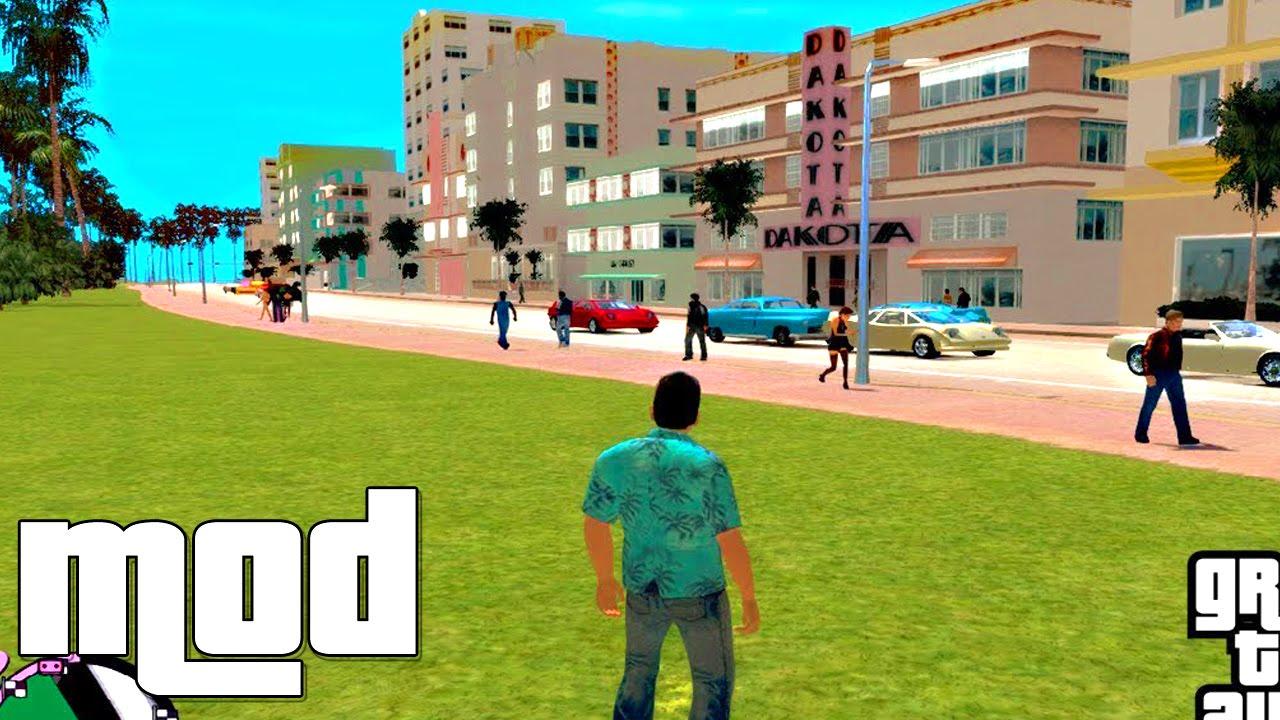 Gta Vice City Rage Ped paths Map MOD for GTA IV  YouTube