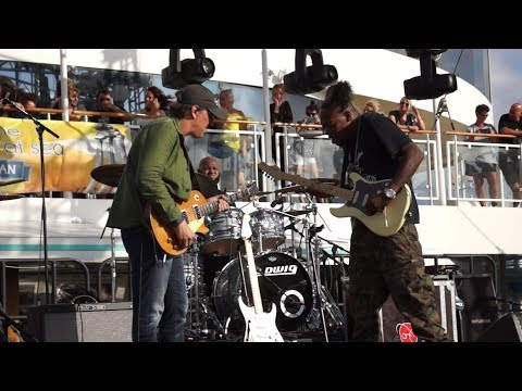 Eric Gales feat. Joe Bonamassa - Red House (20.08.2019, Norwegian Pearl, Mediterranean Sea)