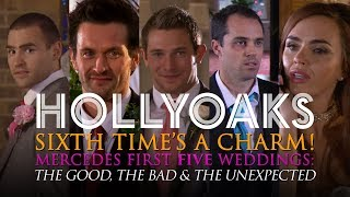 Hollyoaks: Mercedes' First Five Weddings...