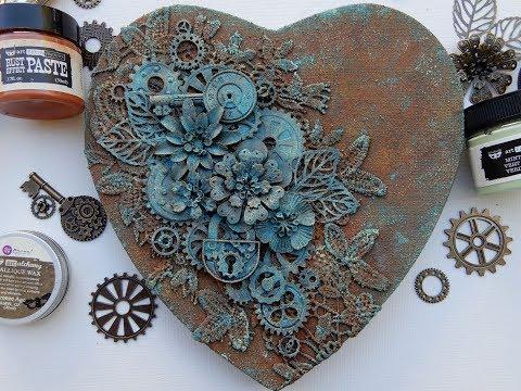 rusty heart mixed