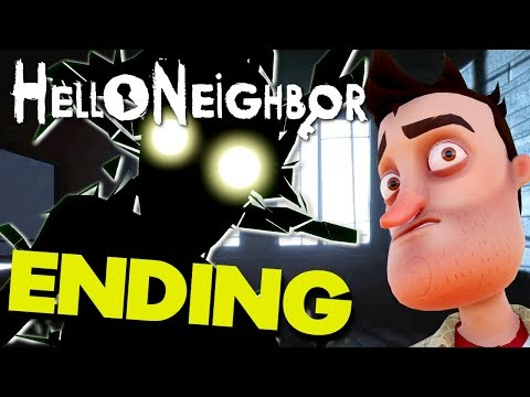Hello Neighbor (FULL GAME) - ALL ACT ENDINGS / BASEMENTS / FINAL BOSS / FINALE