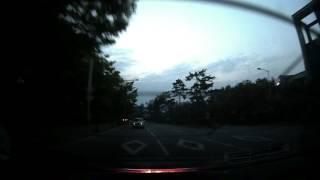 지넷 GI700 야간 후방 카메라 영상