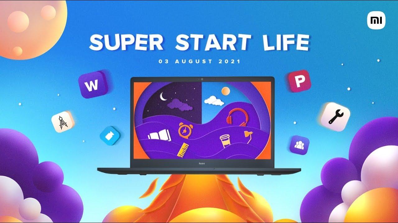 RedmiBook | 10 hour All day Battery | SuperStartLife on 03.08.21