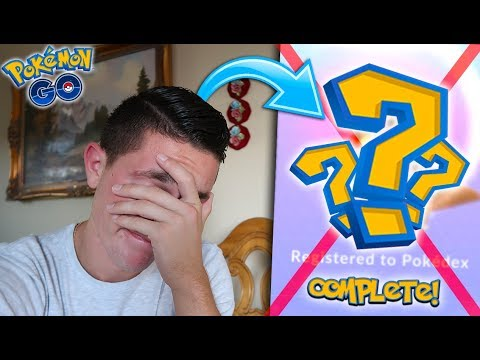 I CAN COMPLETE MY POKÉDEX 100% RIGHT NOW IN POKÉMON GO! There's Only 1 Problem...
