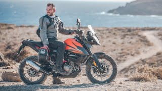 2020 KTM 390 Adventure Review. First Ride
