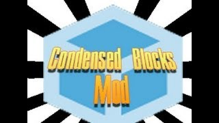 Minecraft Mod Showcase : Condensed Blocks Mod