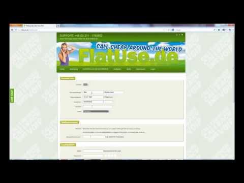 FlatUse.de Registration