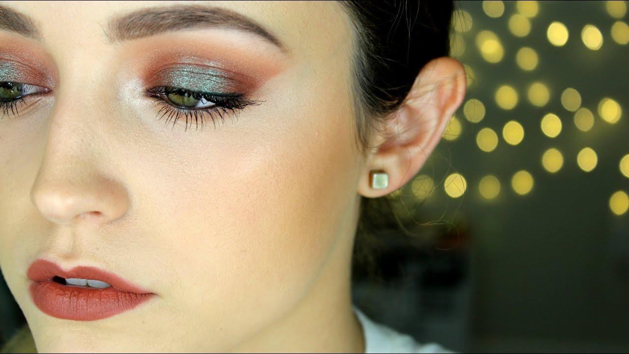 Mac Taupe Lipstick Tutorial Dramatic Eyes Youtube