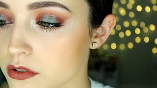 Mac Taupe Lipstick Tutorial- Dramatic Eyes