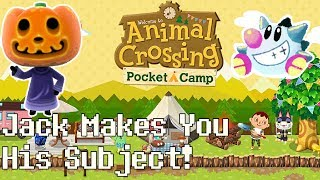 Animal Crossing Pocket Camp   Jack's puppet theater demo: Jack visits the camp!