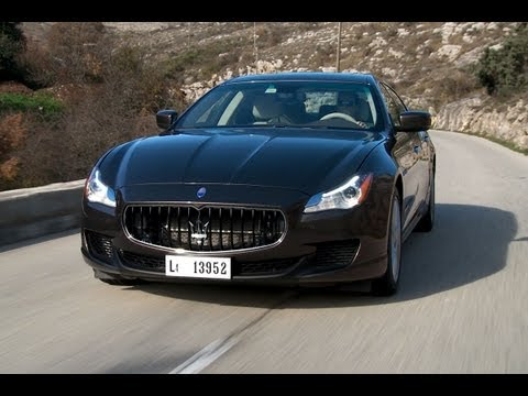 Maserati Quattroporte 2013 roadtest (English subtitled)