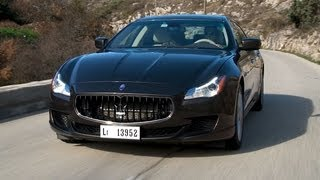 Maserati Quattroporte 2013 roadtest (English subtitled)