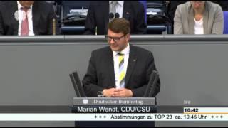 12.06.2015 Rede Marian Wendt, MdB zum Thema IT-Sicherheit im Deutschen Bundestag