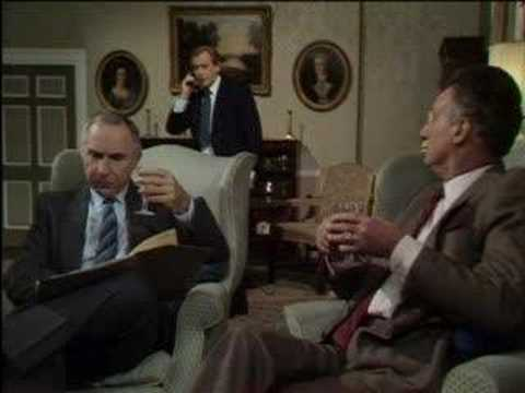 Former PM's memoirs - Yes, Prime Minister - BBC comedy