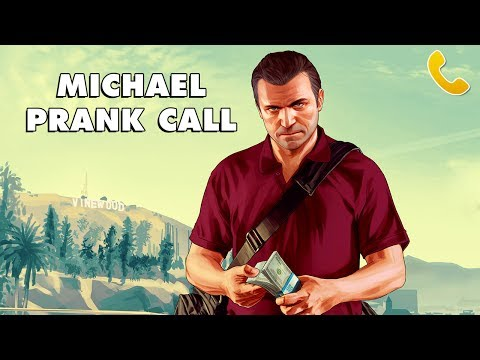 MICHAEL DE SANTA PRANK CALL