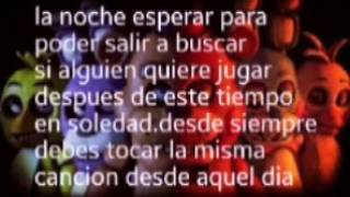 Five nights at freddy's cancion en español con letra