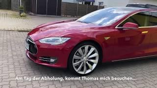 Tesla Kaufberatung Model S P85 mit nur 9700 Kilometer !