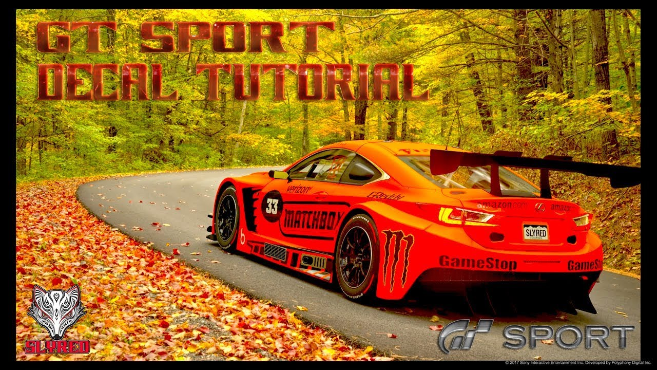 GT SPORT How To Make And Upload DECALS To The DECAL Uploader PS - Cars decal maker upload picture